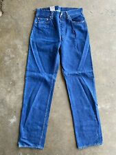 DEADSTOCK '555 Valencia St' Levis LVC 501, sz 34x40 (fits 31.5x35) Made in USA