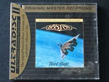 BOSTON THIRD STAGE MFSL 24KT GOLD CD WITH J CARD - FACTORY SEALED!!!