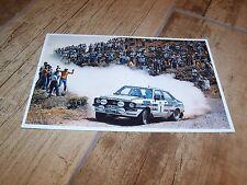 Photo / Photograph  Ari Vatanen Ford Escort MkII RS1800 1981  //