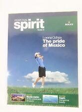 Rolex Perpetual Spirit Magazine Issue Number 13 Lorena Ochoa Cover English Print