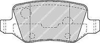 Ferodo FDB1782 Rear Axle Premier Car Brake Pad Set Replaces 168 420 04 20