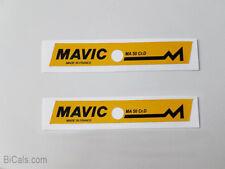 MAVIC MA 40  decal sticker for rims silk screen free shipping