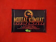 Mortal Kombat Trading Card Pack by Classic (10 cards) SNES Sega Mortal Combat