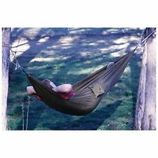 New 9' Army Olive Green Travel Picnic Camping Hammock Drawstring Bag