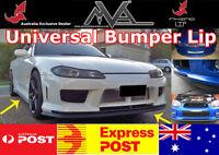 RHINO LIP Bumper Spoiler LIP for Nissan Silvia S13 S14 S14a S15 180sx 200sx GT
