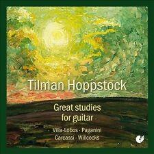 Tilman Hoppstock, guitare Great Studies for guitar, New Music