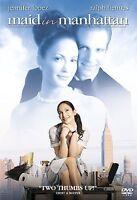 Maid in Manhattan DVD Movie Jennifer Lopez Ralph Fiennes Wide And Full Screen