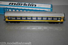 Märklin 4120 4-Achser Personenwagen 1.Kl. Liegewagen Railtour SNCB Spur H0 OVP