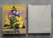 BOX ONLY Stationfall IBM PC MS-DOS Infocom vintage computer game Station Fall