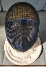 Blue Gauntlet Fencing Mask Helmet 1000Nw Size Medium