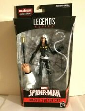 HASBRO MARVEL LEGENDS KINGPIN B.A.F SERIES BLACK CAT(FELICIA HARDY) WITH WHIP