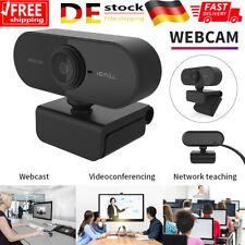 Autofokus Webcam USB Web Online Kamera für Laptop PC Notebook Skype mit Mikrofon