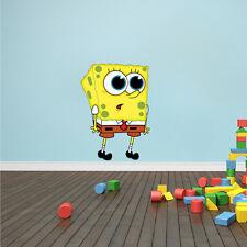 Spongebob Squarepants Wall Decal Character Cartoon Wall Sticker Vinyl s18