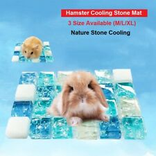 Hamster COOLING Mat Guinea pig/Rabbit Cooling Bed STONE L-3XL