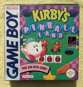 Kirby's Pinball Land for Nintendo Gameboy Boxed