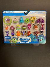 Spinmaster Disney-Pixar Monsters University - Monster Minis PVC set- New