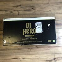 DJ Hero Renegade Edition Featuring Jay-Z & Eminem Video Game Xbox 360 W/ Box CIB