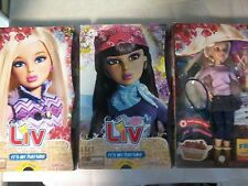 set of 3 it's my nature liv dolls.  1 daniela.  2 sophie. NIB. see description