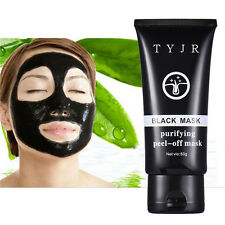 New 50ml Black Mud Deep Cleansing Blackhead Remover Purifying Peel Face Mask