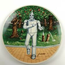 """Knowles Wizard of Oz Collector Plate James Auckland """"If I Only Had a Heart� Coa"""