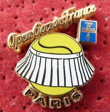 PIN'S SPORT TENNIS OPEN GAZ DE FRANCE PARIS ZAMAC QUALITE ARTHUS BERTRAND