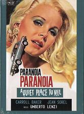 Paranoia - A Quiet Place to Kill Mediabook DVD + Blu Ray Umberto Lenzi