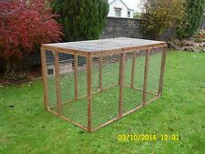 13 panels aviary Run Cage chicken,ducklings, rabbits, guinea dog pets pen