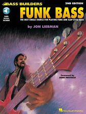 Funk Bass 2nd Edition - Bass Builders Series Bass Instruction Book and 000699348