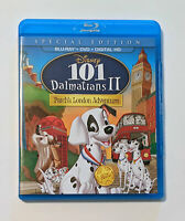 101 Dalmatians II: Patch's London Adventure (Blu-ray/DVD, Disney)No Digital Code