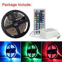 5M 500CM RGB 5050 SMD LED Strip Light 150LEDS 12V + 44 key IR Remote Controller
