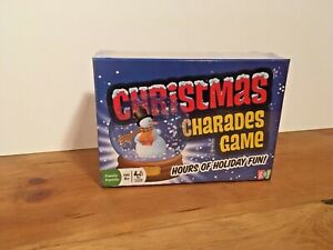 Christmas Charades Game - Party Game and Family Fun - Ages 8 and Up Board Game