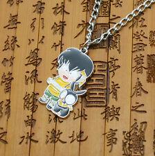 Ranma 1/2 necklace Black Pig P-Chan Metal pendant +chain