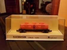 VINTAGE 1960's BACHMANN N GAUGE RAILROAD TRAIN SHELL 3 DOME TANK CAR 6211/200