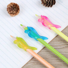 3x dolphin children pencil holder pen writing aid grip posture correction toolXS