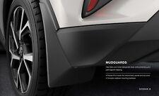 2018 Toyota C-Hr Garde-Boue Rabats ( Set De 4) Véritable OEM PU060-10016-P1