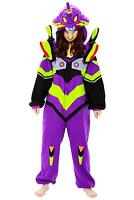 Sazac Evangelion first machine Costume Cosplay Kigurumi Party w/ Tracking NEW