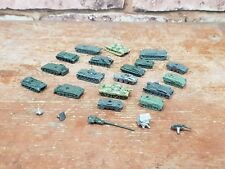 SMALL SCALE DIECAST METAL TANKS