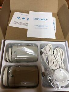 Zmodo ZP-IBH23-W HD WiFi Camera Kit ZM-W0002-2 Brand New