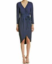 Yumi Kim Solid All My Love Wrap Dress Small