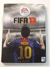 XBOX 360 SPIEL FIFA 13 Steelbook, usato ma BENE