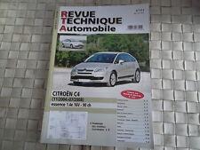REVUE TECHNIQUE CITROEN C4 ESSENCE 1.4e 16V (90 ch) DEPUIS 11/2004