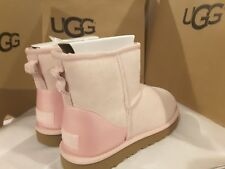 New in box UGG Classic Mini II Metallic SLPN Boots women's Size 8 1019029 $140