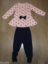 Vestidos de manga larga de bebé para niñas de 0 a 24 meses