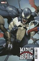 MARVEL King in Black #3 Comic Book Yu Variant Venom Knull Cates Stegman NM