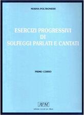 RUGGINENTI Poltronieri, N. - SOLFEGGI PARLATI E CANTATI - vol. 1