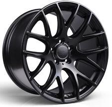 Alloy Wheels (4) 8.5x19 3SDM 0.01 Black Matt 5x120 et38