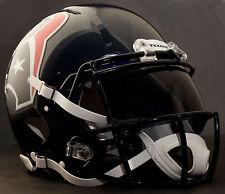 HOUSTON TEXANS NFL Gameday REPLICA Football Helmet w/ OAKLEY Eye Shield