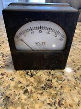 New listing Vintage Westinghouse Volt Meter
