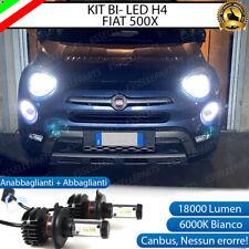 KIT LED H4 FIAT 500X RESTYLING 6000K CANBUS 18000 LUMEN REALI LUXEON ZES BI-LED