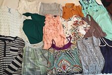 BRAND NAMES - PRICED TO SELL -Lot of 15 women's size medium shirts & tanks